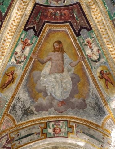 cristo risorto savona abside san giacomo semino