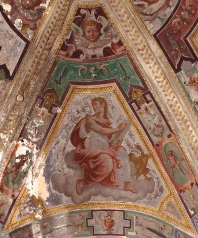 affresco san giovanni evangelista savona abside san giacomo semino